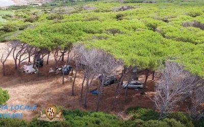 Sardegna, droni contro campeggiatori abusivi e gli incendi
