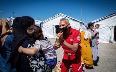 Intervista a Ignazio Schintu, direttore Area operazioni emergenze e soccorsi della Croce Rossa Italiana, sull'accoglienza dei profughi afghani ad Avezzano