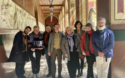 A Villa Medici in Roma nuovi borsisti dell'Accademia di Francia