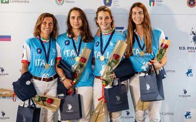 Azzurre campionesse d'Europa nel Polo. Secondo posto per l'Inghilterra